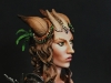 Portrait of a Tiefling Bust