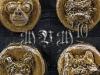 Raccoon Thief Coins Closeup